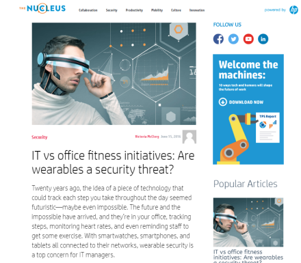 https://www.hpnucleus.com/index.php/2016/06/15/it-vs-office-fitness-initiatives-are-wearables-a-security-threat/